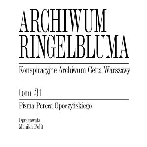 Pisma Pereca Opoczyńskiego