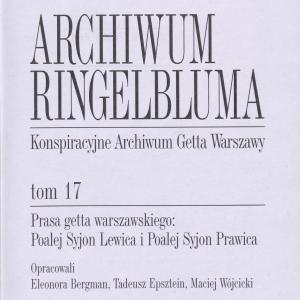 Prasa getta Warszawskiego: Poalej Syjon Lewica i Poalej Syjon Prawica