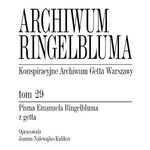 Pisma Emanuela Ringelbluma z getta