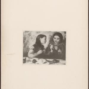 Efraim i Menasze Seidenbeutel; Dwie dziewczynki