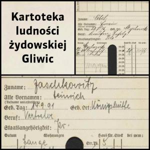 Kartoteka ludności żydowskiej Gliwic