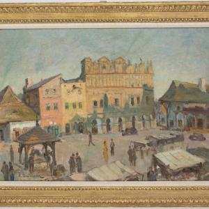 Rynek w Kazimierzu Dolnym nad Wisłą