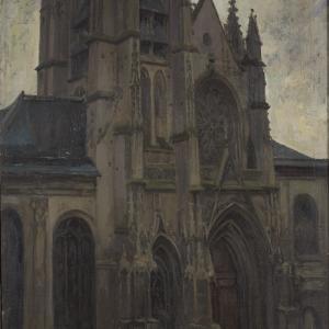 Katedra Saint-Maclou w Pontoise