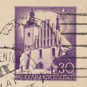 Kartki pocztowe z Getta warszawskiego