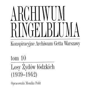 Losy Żydów łódzkich (1939-1942)
