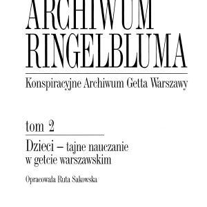 Dzieci - tajne nauczanie w getcie warszawskim