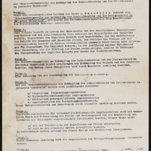 Statut Urzędu do Walki z Lichwą i Spekulacją w żydowskiej dzielnicy mieszkaniowej (fragment)