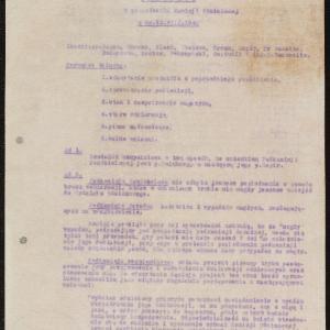 Protokoły i sprawozdania ŻSS