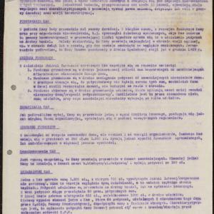 Pisma i sprawozdania dotyczące udzielania pożyczek dla potrzeb ludności (lipiec-wrzesień 1940 r.)