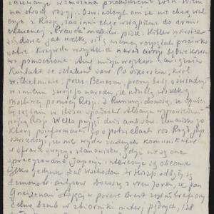 Notatki z komunikatów radiowych z 1941 i 1942 r.