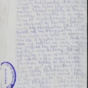 """""""Listy płockie"""". List Chaima Szafrana (Suchedniów) do Eliasza Zylberberga (Warszawa-getto)"""