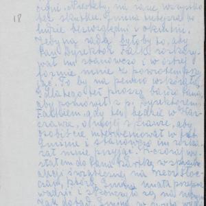 """""""Listy płockie"""". List Chaima Szafrana (Suchedniów) do [Eliasza] Zylberberga (Warszawa-getto)"""