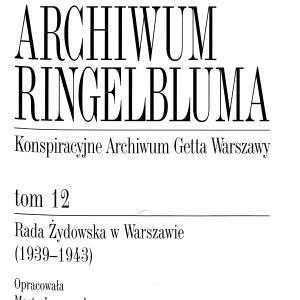 Rada Żydowska w Warszawie (1939-1943)