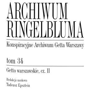 Getto warszawskie, cz. II