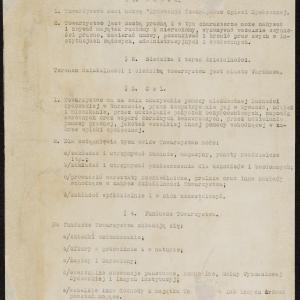 Regulamin Żydowskiego Towarzystwa Opieki Społecznej