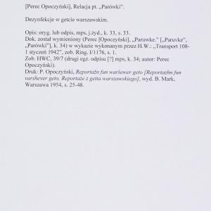 "Perec Opoczyński, Reportaż pt. ""Księga parówki"""