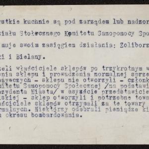 Wspomnienia z warszawskiego Żoliborza (1939-1940)