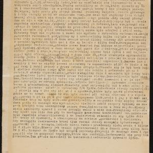 """Relacja pt. """"Przeżycia podczas września 1939 roku, członka L.O.P [Ligi Obrony Powietrznej] i Straży Obywatelskiej"""""""