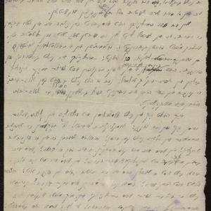 Relacja z cmentarza na ul. Gęsiej (fragment dziennika [?])