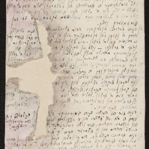 Protokół z rozprawy honorowej dotyczącej konfliktu pomiędzy Natanem Nechemią Tytelmanem a Gerszonem Erdeplem, która odbyła się dnia 6 września 1941 r.