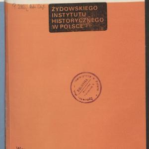 Biuletyn Żydowskiego Instytutu Historycznego