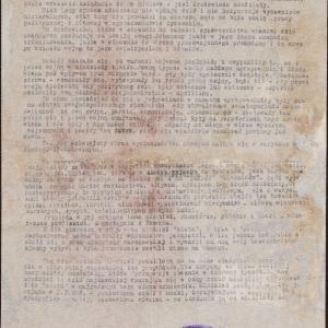 Referat o młodzieży w getcie warszawskim (fragment [?])