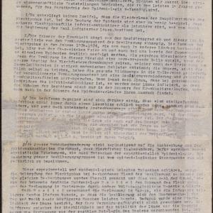 Memoriały dotyczące epidemii tyfusu plamistego i propozycji jego zwalczania