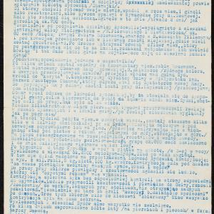 Relacja z pierwszych miesięcy okupacji niemieckiej i represji antyżydowskich w Białymstoku