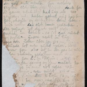 List niezidentyfikowanego autora do przyjaciela w getcie warszawskim o zbliżającej się zagładzie, z prośbą o modlitwę