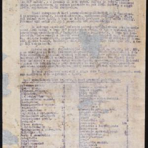 Sprawozdanie Wydziału Handlowo - Rzemieślniczego, Referatu Patentowego i Podatkowego za rok 1940