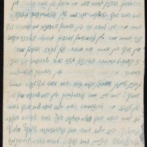 List z 01.09.[1941] do NN (ul. Tłomackie 2 m. 16)