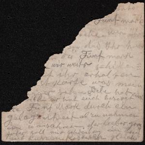 List z 21.01.1942 r. [d.st. – Gąbin] do Tauby Różanej (Warszawa, ul. Dzielna 1[...?])