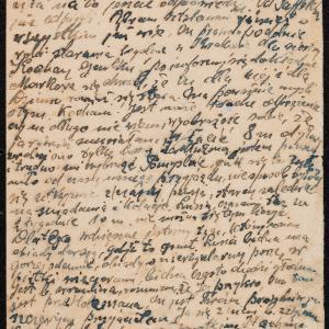 Listy sióstr Rozy i Lusi z Gąbina do Abrama Gipsa w Getcie Warszawskim