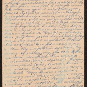 M. Habergryc do rodziny w getcie warszawskim o nałożeniu pogłównego podatku deportacyjnego