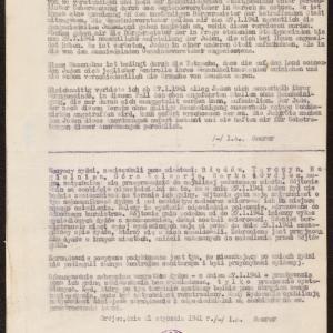 Zarządzenie z 21.01.1941 r. dotyczące przesiedlenia Żydów zamieszkujących gminy wiejskie w powiecie grójeckim do miasteczek