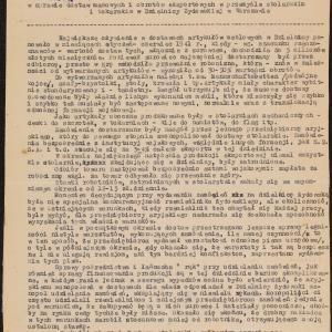 Notatki w sprawie dostaw masowych i eksportu w getcie warszawskim