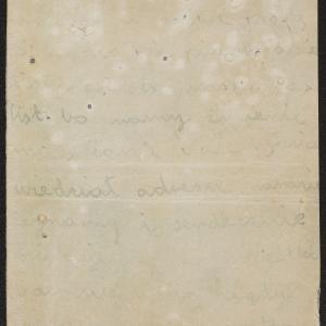 List niezidentyfikowanej autorki do rodziny w getcie warszawskim o zbliżającej się zagładzie