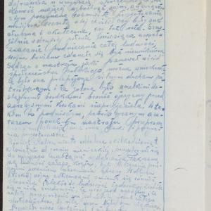 """Relacja N. Konińskiego z Kalisza, współpracownika """"Oneg Szabat"""", dotycząca dwóch nieudanych prób przedostania się w końcu listopada 1939 r przez Bug na tereny okupowane przez armię sowiecką"""