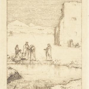 Hagada szel Pesach - Znalezienie Mojżesza Auffindung Moses