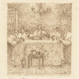 "Hagada szel Pesach - ""Modlitwa przy stole"" ""Gebet nach Tisch"""