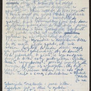 Listy Rózi Kapłan do Dawida i Heli Lewi
