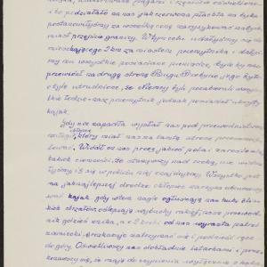 Relacja pt. Wędrówka do Lwowa (1939) i powrót (1941); wrażenia i refleksje