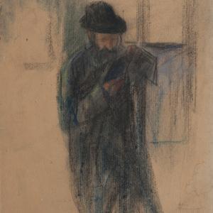 Czytający mężczyzna