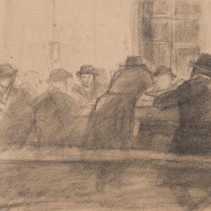 Młodzi talmudyści w beit midraszu