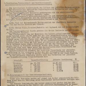 Periodyki urzędowe (2) Kierownika Rad Starszych Gmin Żydowskich w Ost-Oberschlesien (Sosnowiec)