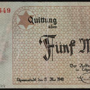 Pieniądze papierowe getta łódzkiego