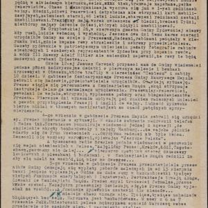 Wspomnienia z pierwszych miesięcy okupacji w Warszawie (09.1939-01.1940)