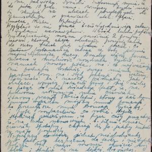 Relacja o przebiegu selekcji w dniu 6.09.1942 w getcie warszawskim