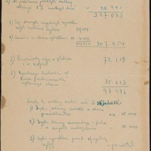 Statystyka ludności getta warszawskiego za okres od 22.07.1942 do 10.1942 r.