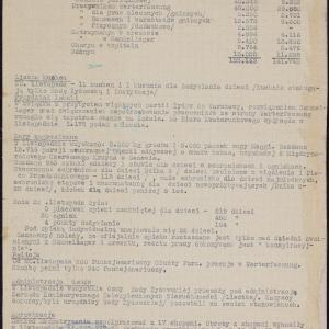 """Opracowanie pt. """"Zjawiska społeczne w listopadzie 1942"""""""